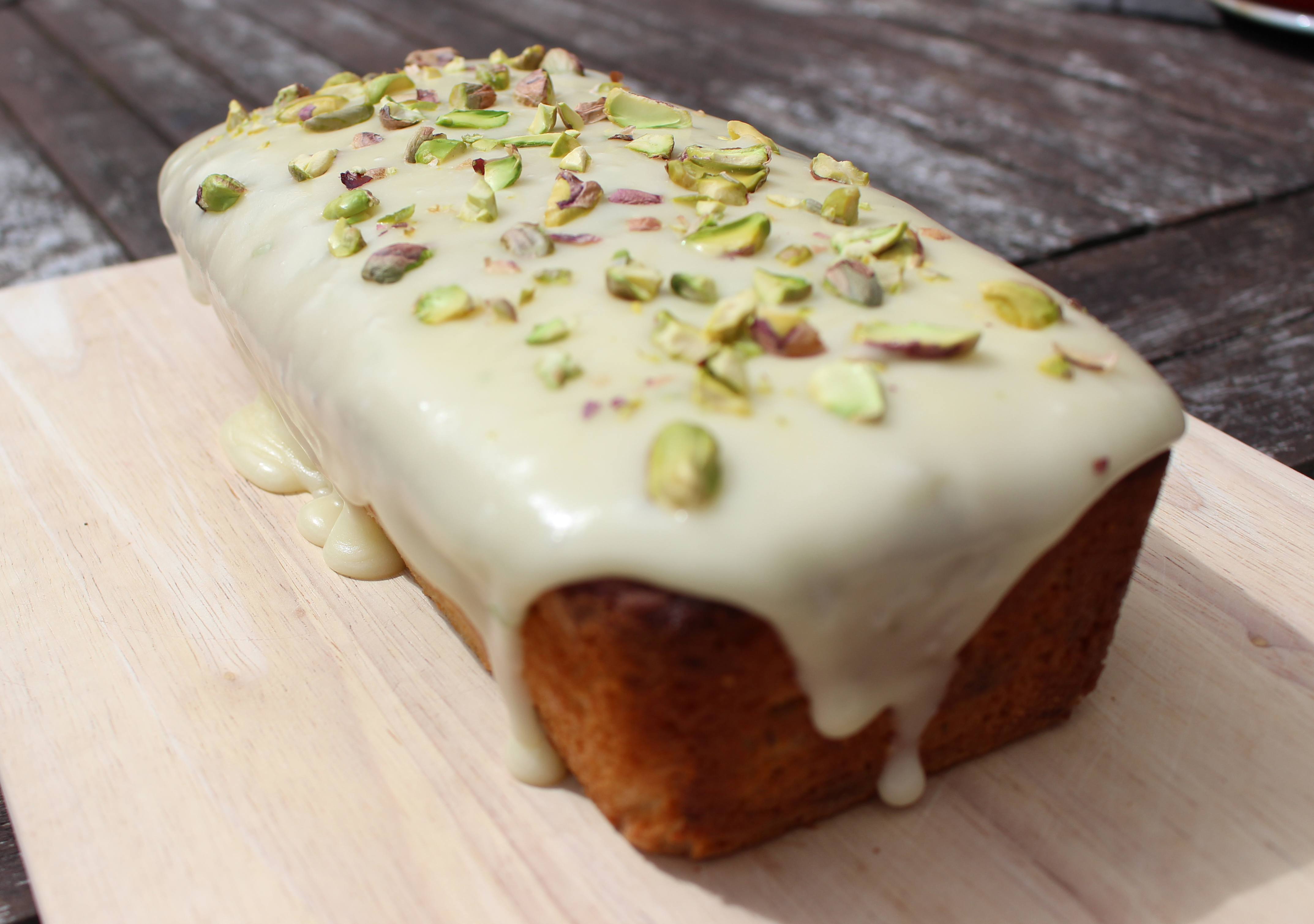 Courgette And Lime Cake Ms