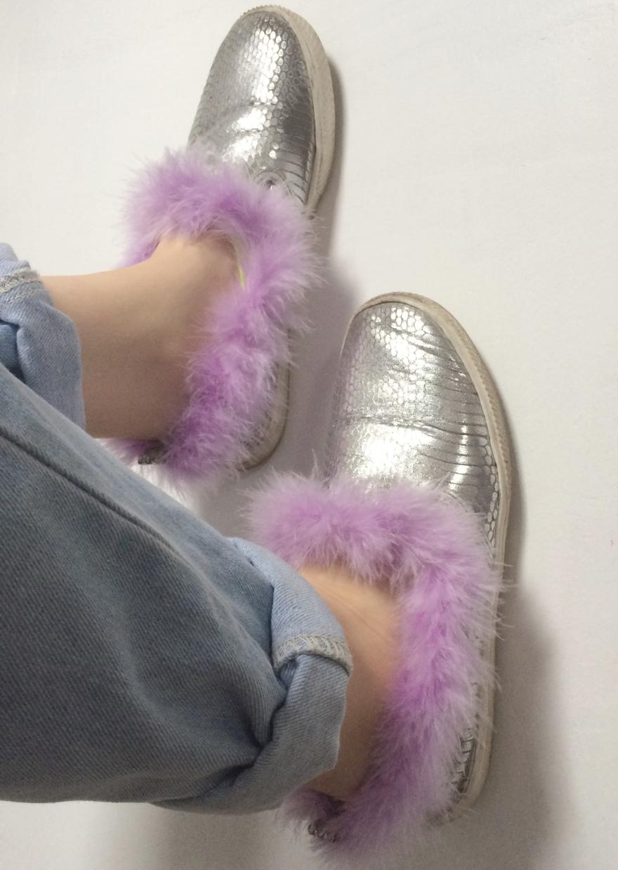 fluff shoes 9
