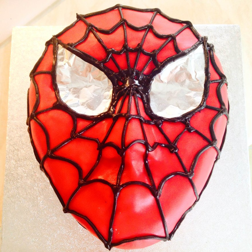 spiderman cake 04