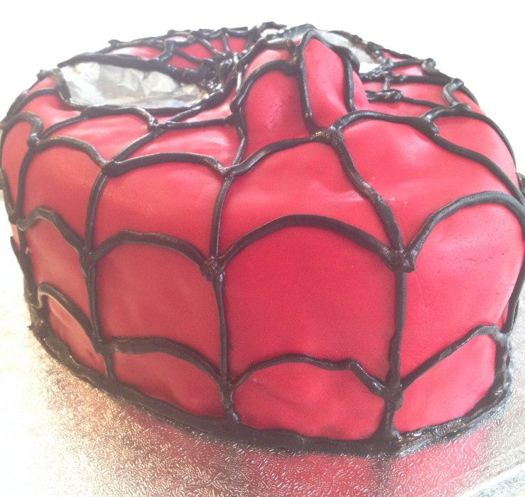 spiderman cake 05